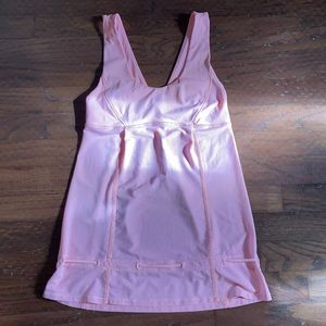 Pink run tame me lululemon tank